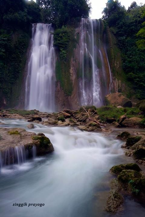 Cikaso Waterfall, Ujung Genteng West Java