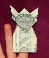 lots of paper money folding projects