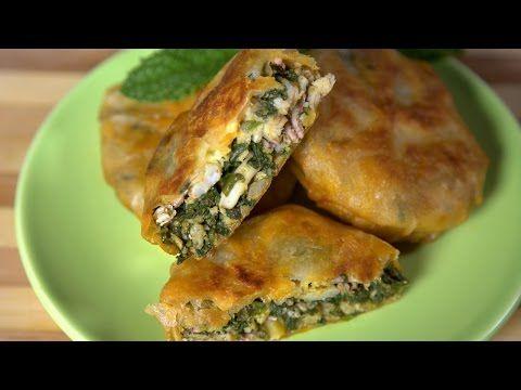 449 - Seafood and Spinach Pastilla / بسطيلة السمك والسبانخ - Cooking with Alia