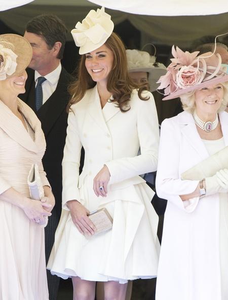 Kate Middleton in Alexander McQueenHats, Royal Families, Alexander Mcqueen, Duchess Of Cambridge, The Duchess, Garters Service, Katemiddleton, Kate Middleton, Catherine Duchess