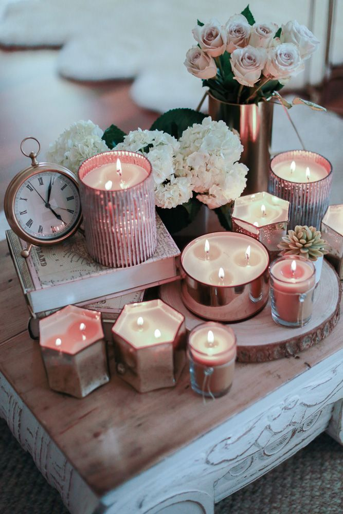 Amazing Votivo, Candle, Home Decor, Flowers