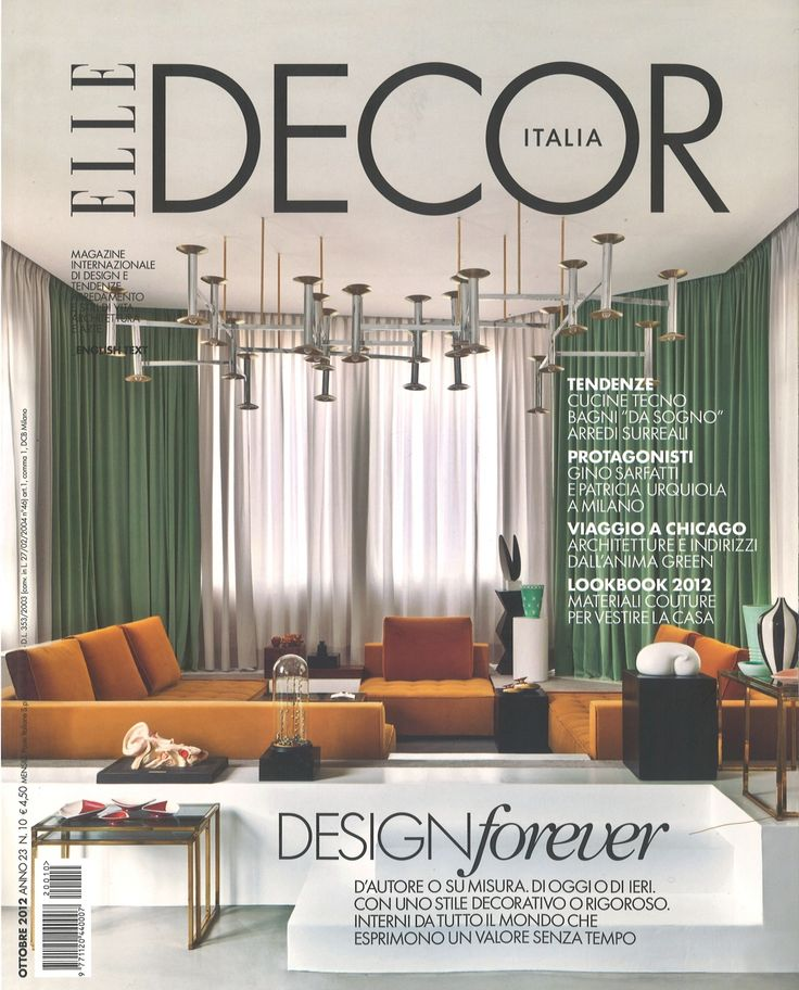 Elle Decor Italy 2015