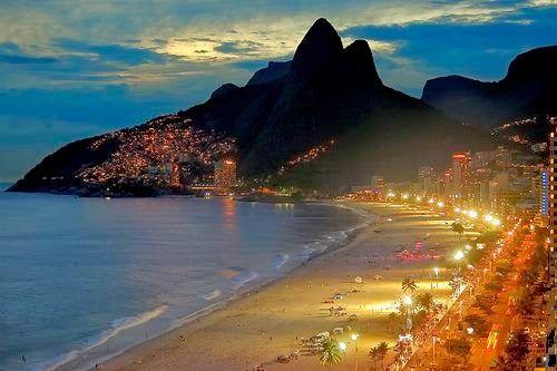 Night in Ipanema, Rio de Janeiro: We stayed at Orla Copacabana Hotel, within…