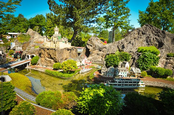 Дежавю тур в Данию. Часть первая. Центр детского МИРО3DANIA Legoland #Legoland #Billund