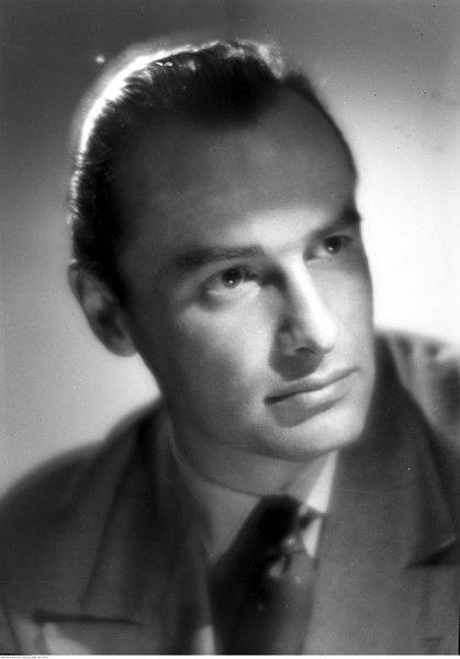 Jerzy Duszyński. Fotografia ze zbiorów Narodowego Archiwum Cyfrowego