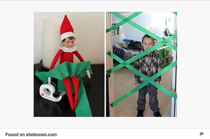 Lutins de Noël: 25 idées de tours trouvées sur Pinterest