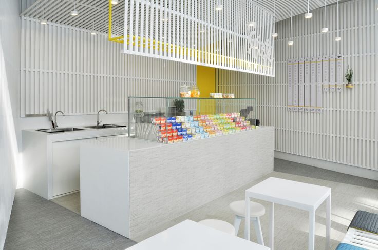 Two retail spaces serve up sweet treats in different ways. LA's Amazebowls and Beijing's LePur are a study in contrasts.