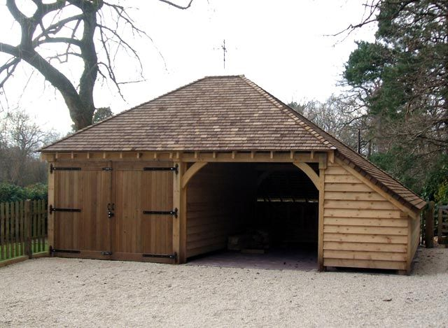 99 Best Images About Wooden Garages On Pinterest