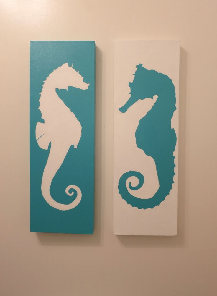 Coastal Seahorses decor... different design same idea