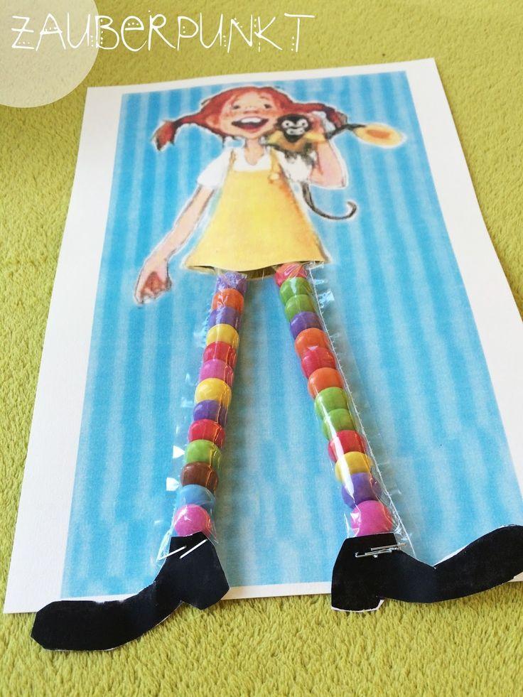 Kindertraktaties: Pippi Langkous snoepsokken