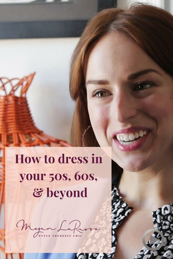 d7f36090d499 How to dress in your 50 s 60 s   Beyond.