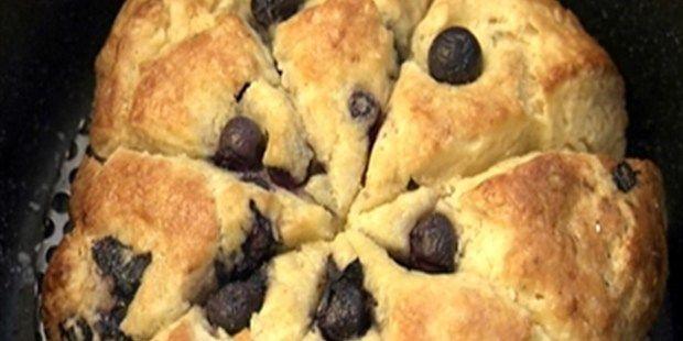 Bill Granger's blueberry breakfast scones