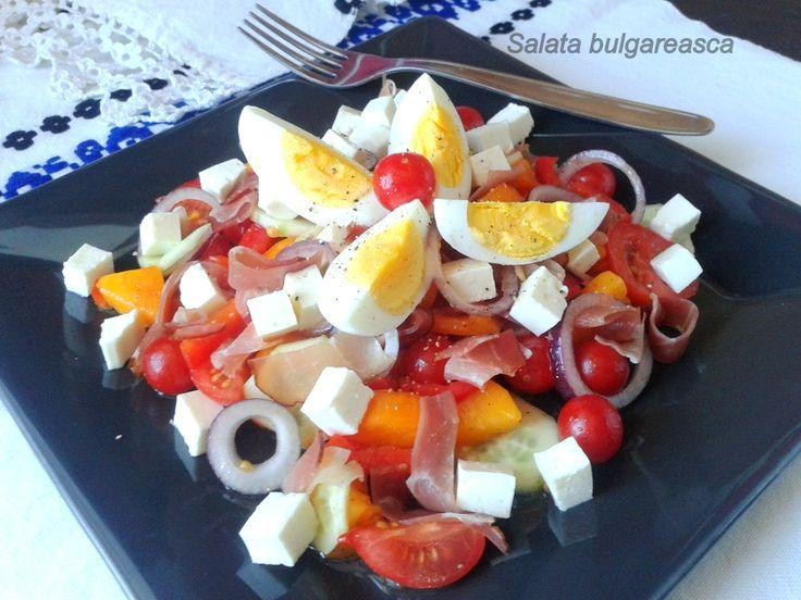 salată bulgărească.