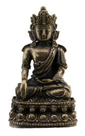 Bouddha Shakyamuni-Amulette tibetaine statuette-Boddhisattva-55mm