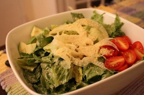 Raw, Vegan Caesar Salad Dressing
