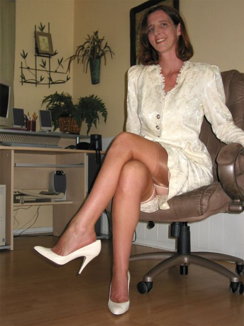 Pin On Wearing Stockings-8773
