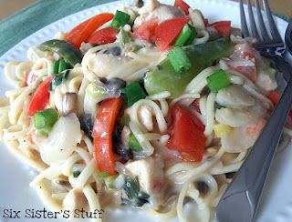Healthy Cajun Chicken Pasta Recipe!