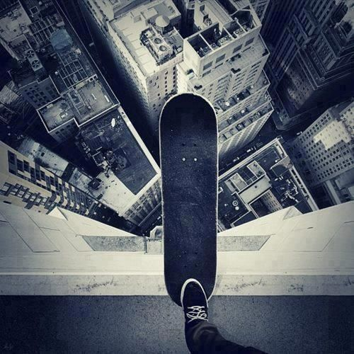 DROP IN - I used to love and hate this feeling at the exact same time!! #skateboard #photography