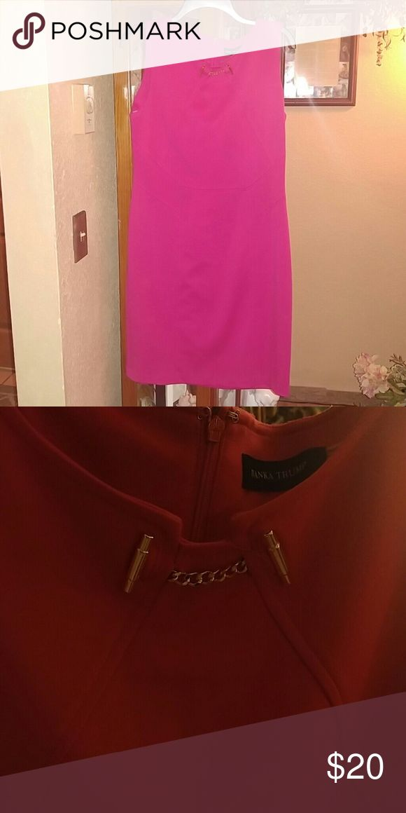 (6A) Ivank Trump Pink Knit Dress Very cute pink knit dress. Ivanka Trump Dresses Midi