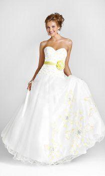 l'enchantement de soutien-gorge robes de mariage de couleur d'impression