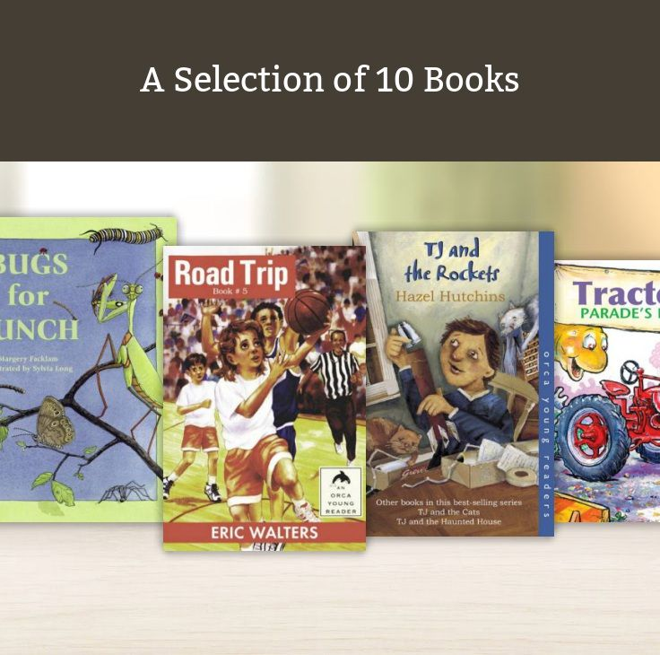 A Selection of 10 Books that I like
