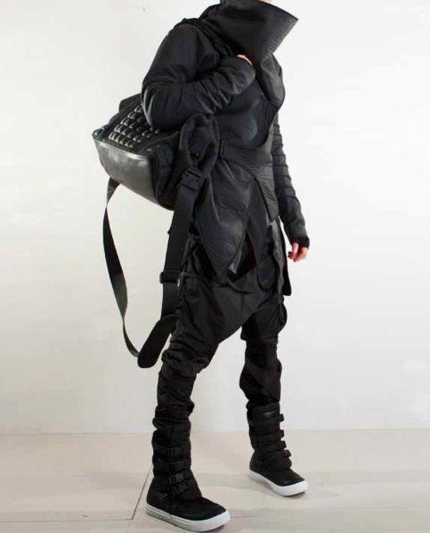 Post-apocalypse clothing / fashion / post-apocalyptic wear / dystopian / apocalypse looks / apocalyptic style / unisex