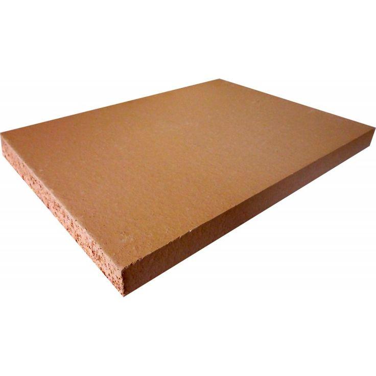 Dalle réfractaires filée et pressée dimensions 400 x 300 x 30 mm  Les dalle réfractaires de qualité A25p sont spécialement conçu pour les poêles de masse et foyers à accumulation et plus généralement pour la combustion du bois.
