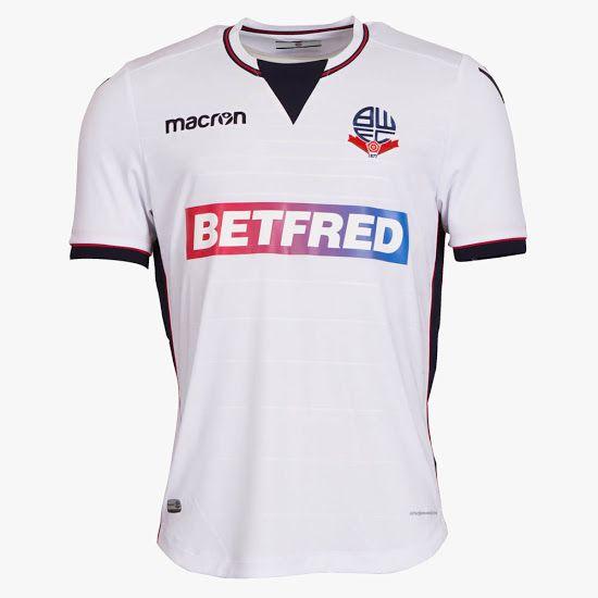 Bolton Wanderers 17-18 Home & Away Kits Released - Footy Headlines