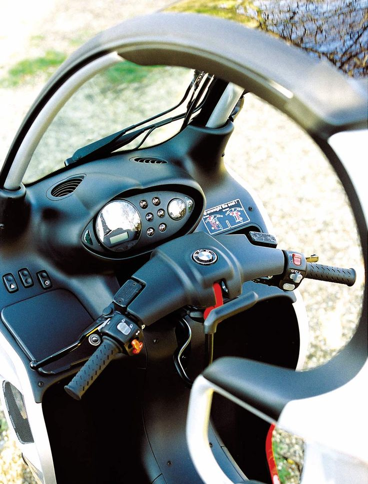 bmw scooter c1 - controls
