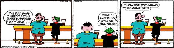 Andy Capp Cartoon for Jul/18/2014
