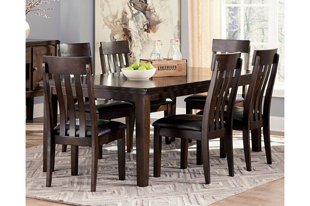 Haddigan Dining Table And 6 Chairs Set In 2020 Dining Table Dining Room Table Extension Dining Table