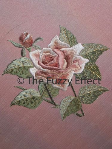 The Rose - Japanese embroidery