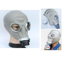 Geek | 2 in1 Paint Spraying Military soviet russian gas mask Full Face Mask Facepiece Respirator