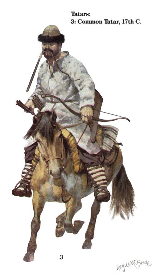 Common Tatar, 17th century