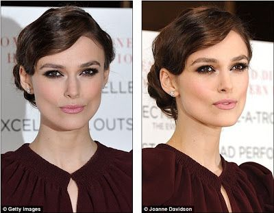 Hello Celebrity: Don't you know self-application is A Dangerous Method? English rose Keira Knightley suffers fake tan fail at premiere