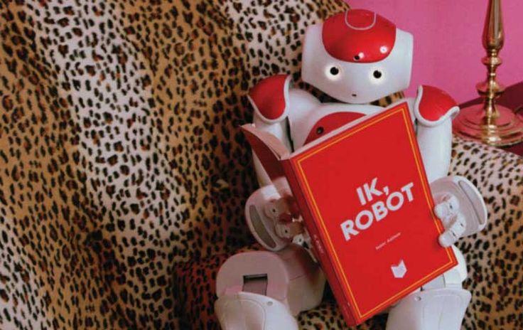 Nederland Leest de toekomst: Robotica Het thema van de nationale leesbevorderingscampagne Nederland Leest (1-30 november) is dit jaar robotica. Robots waren een eeuw geleden al voorspeld, maar nu komen we ze toch echt overal in onze samenleving tegen. Bibliotheek Kampen geeft 750 exemplaren van Ik robot, door Isaac Asimov, cadeau...