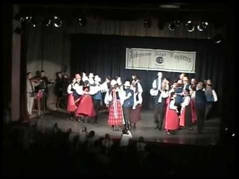 Debreceni Népi Együttes Ifjúsági csoport - Széki táncok