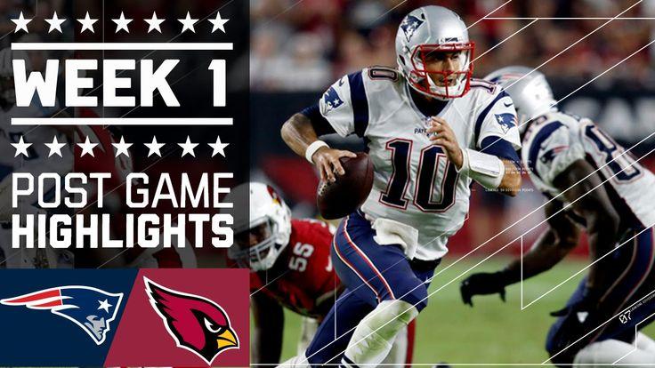 Patriots vs. Cardinals (Week 1) | Post Game Highlights | NFL
