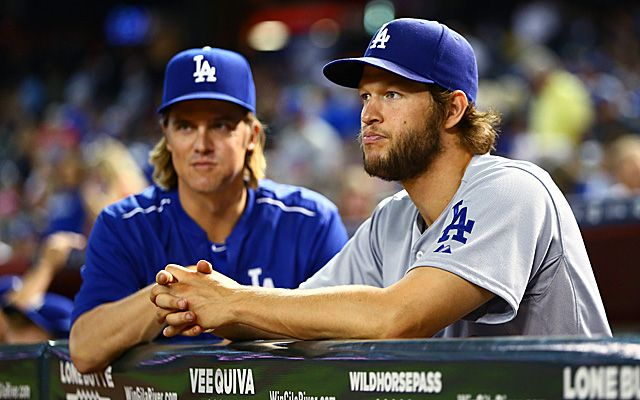 Clayton Kershaw and Zack Greinke led the Dodgers to their third straight NL West title.