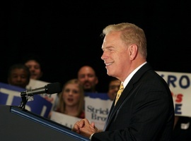 Gov. Ted Strickland turns DNC speech into Romney roast