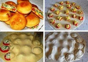 быстрые пирожки бомбочки