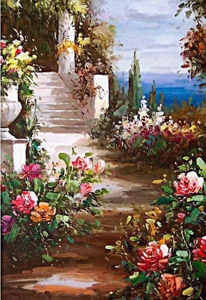 Italian Amp Mediterranean Oil Painting Smed004