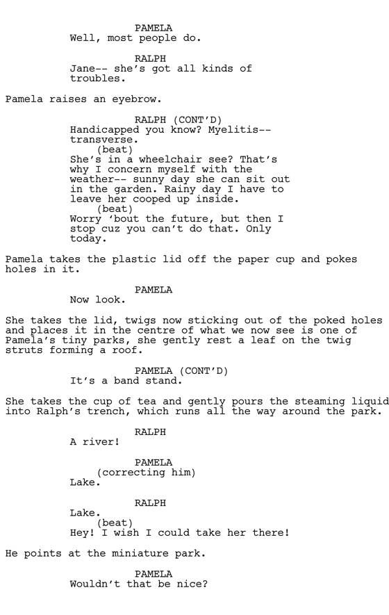 "#scriptchat The Toughest Scene I Wrote: Kelly Marcel (""Saving Mr. Banks"") 