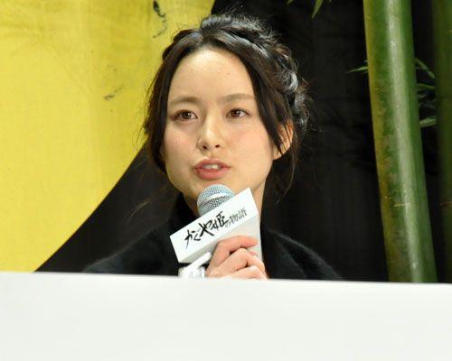 『かぐや姫役を射止めた朝倉あき、『かぐや姫の物語』公開直前の気持ちは「ドキドキ!」』