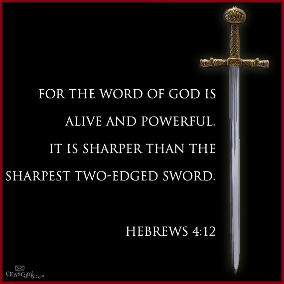 Sword In The Bible Quote
