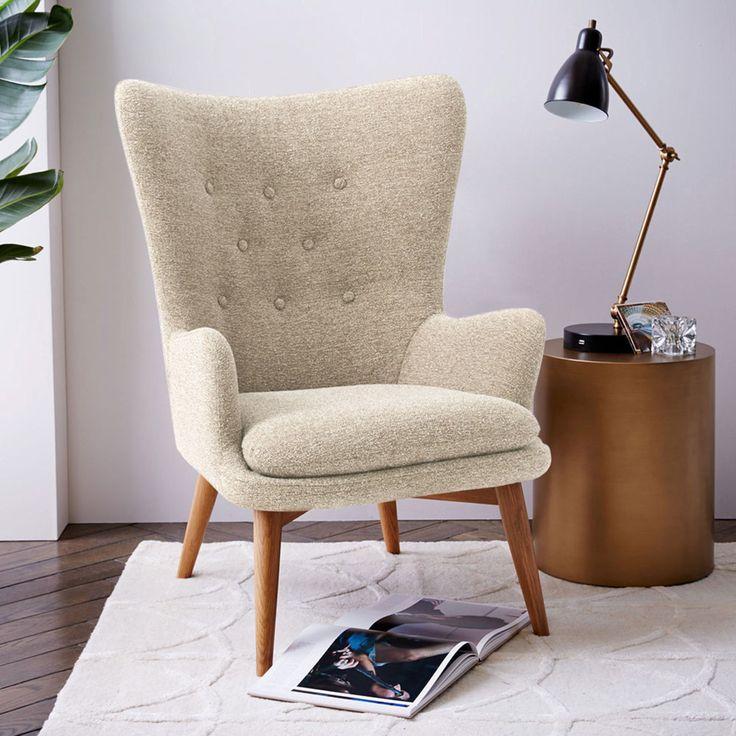 AFFILIATELINK | Niels Wing Chair – Wheat, skandinavisch, Design, Minimalistisch, Einrichtung, Deko, schlichte, Wanddeko, Schlafzimmerdeko, decoration,…
