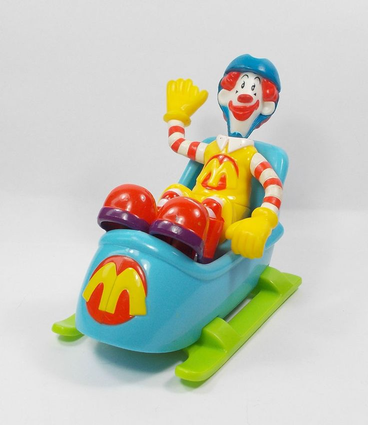 Ronald McDonald - Toy Figure - The Happy Meal Gang - Cake Topper (1)