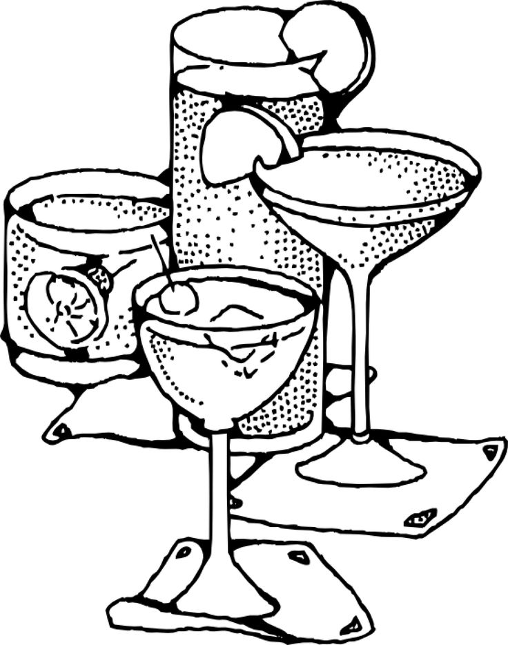 juice coloring page - 28 best images about drinks coloring pages on pinterest