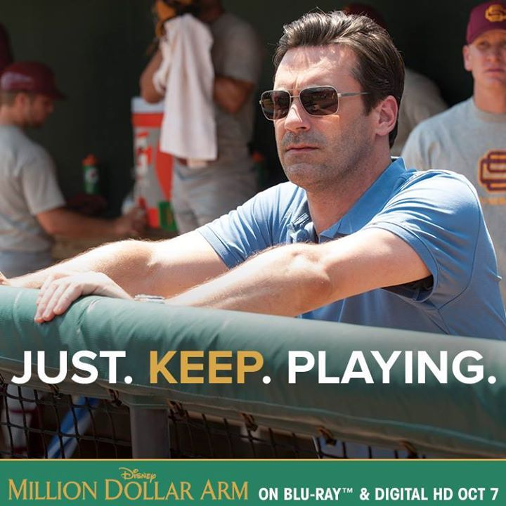 Just. Keep. Playing. #MillionDollarArm