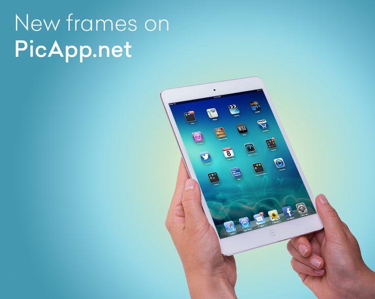 14 best PicApp Frames images on Pinterest | Frame, Frames and Generators